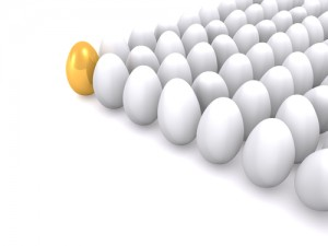 Be the good egg for your customers.