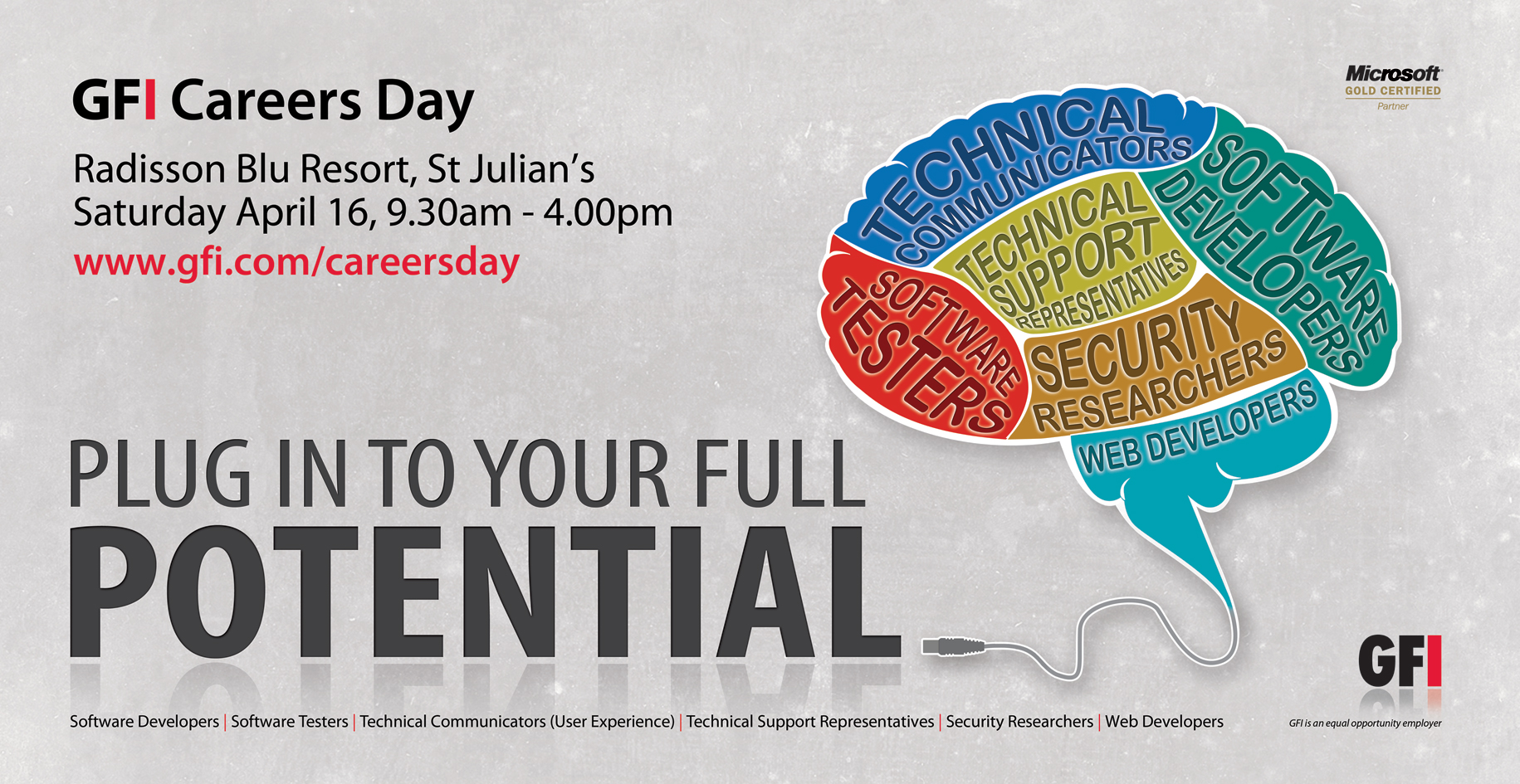 plug in to your full potential gfi careers day