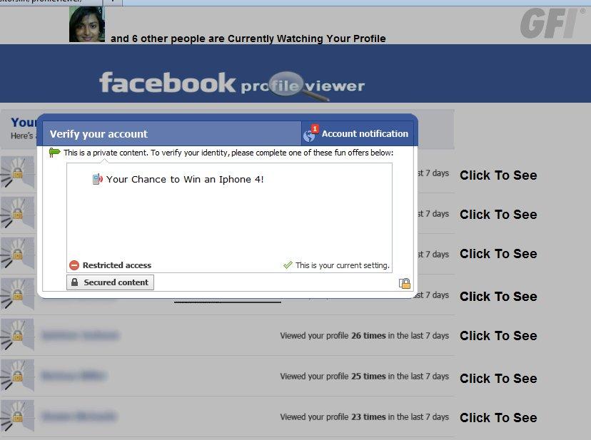 Facebook Profile Viewer Shenanigans « Threattrack Security ...