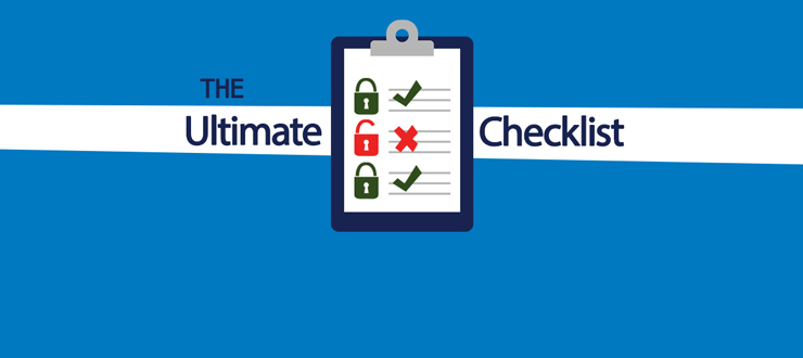 The ultimate network security checklist