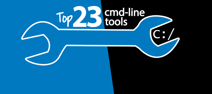 The top 23 command line tools on my computer, and where to