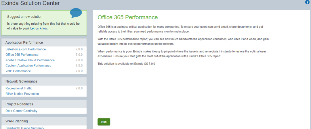Office 365 Performance problem